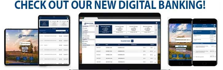 Check out our new Digital Banking!